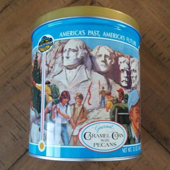 Vintage 10th Anniversary Trail's End Tin Can